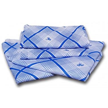 Комплект постельного белья армейский х/б (2 простыни + наволочка)