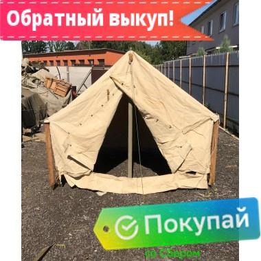 Палатка «Гарнизон-4» брезентовая