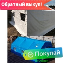 Аренда палатки каркасной М-30