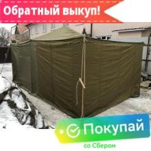 Аренда палатки Гарнизон-8 комбинированная