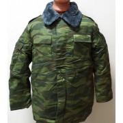 Куртка утепленная КМФ Флора с воротником