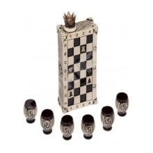 Подарочный набор Штоф с рюмками Шахматы