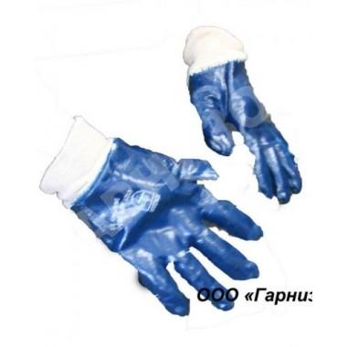 Перчатки нитрил манжет резинка
