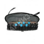 Патронташ кожаный №5 (коричневый, черный)